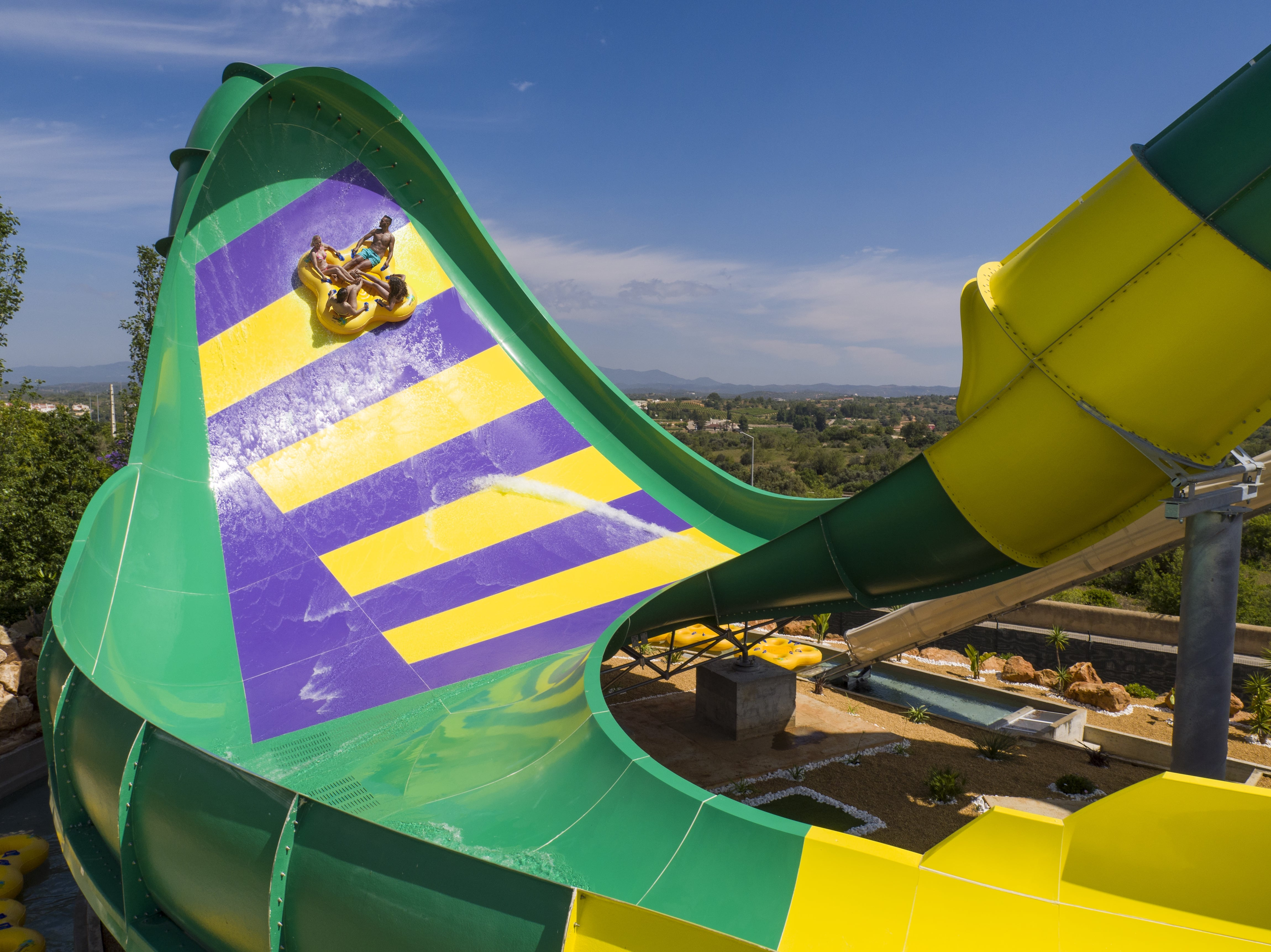 Slide Splash Parque Aquatico Em Lagoa Algarve